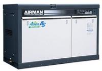 北越工業 (AIRMAN) SMS22RD-5E 屋外設置型スクリュコンプレッサ レンタル業者様向け 50Hz