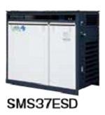 北越工業 (AIRMAN) SMS37ESD-6E 屋外設置型スクリュコンプレッサ 50Hz