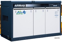 北越工業 (AIRMAN) SMS37RD-5E 屋外設置型スクリュコンプレッサ レンタル業者様向け 50Hz