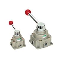 CKD製 手動切換弁 HSVO2-20-4H