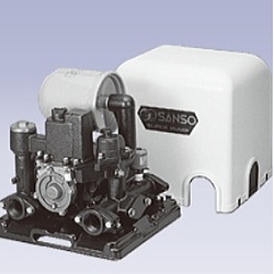 鋳鉄製浅井戸用自動ポンプ(全閉モータ)三相電機製PAZ-1531AR 単相100V50Hz