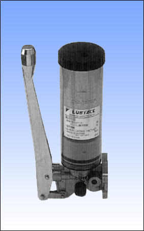 LUBYACE(ルビエース)ダイキン潤滑機設(株)製 手動ポンプ(フォロアプレート式)※C形グリスニップル付き LB05F-11-N