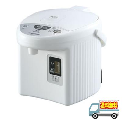 象印:マイコン沸とう電動ポット1.4L/CD-KG14-WAホワイト