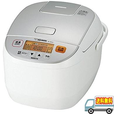 象印:マイコン炊飯ジャー「極め炊き」(1升炊)(ホワイト)/NL-DS18-WA