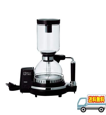 ツインバード:サイフォン式コーヒーメーカー(ブラウン)/CM-D854BR