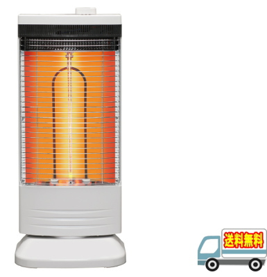 トヨトミ:速暖遠赤外線カーボンヒーター(ホワイト)/EWH-CS100H-W