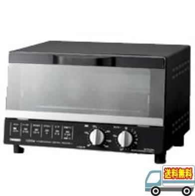 ツインバード:オーブントースター(ブラック)/TS-4185B
