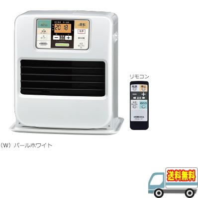 コロナ:石油ファンヒーターリモコン付(パールホワイト)/FH-SR3318Y-W