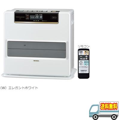 コロナ:石油ファンヒーター(リモコン付)(エレガントホワイト)/FH-WZ4618BY-W