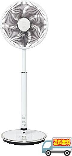トヨトミ:人感センサー・温度センサー付ハイポジション扇風機(DCモーター)(ホワイト)/FS-DS30IHR-W