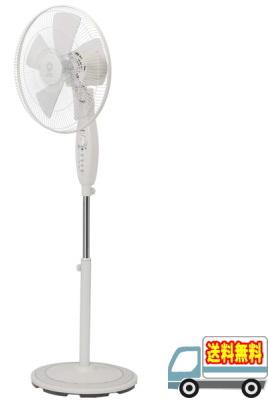 トヨトミ:フロア扇風機(ACモーター)(ホワイト)/FS-F40J-W
