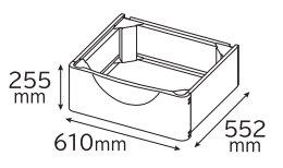 日立部品:置台/TR-BD2ドラム式洗濯乾燥機用, SHOWA ヘルスケア Online Shop:45c6393c --- municipalidaddeprimavera.cl