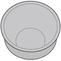 シャープ部品:内釜(KS-MX18B)/2343800322 ヘルシオ炊飯器用