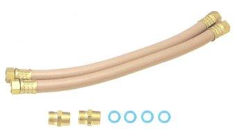東洋アルチタイト部品:定尺1/2ツインホース両端金具付8,000mm/TWH4-80K風呂追焚配管用部材