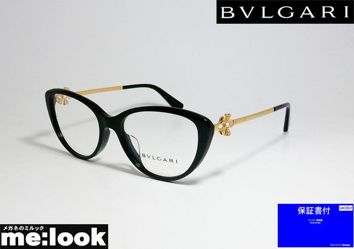 BVLGARI ブルガリ眼鏡 メガネ フレームBV4146BF-501-54 度付可ブラック ゴールド