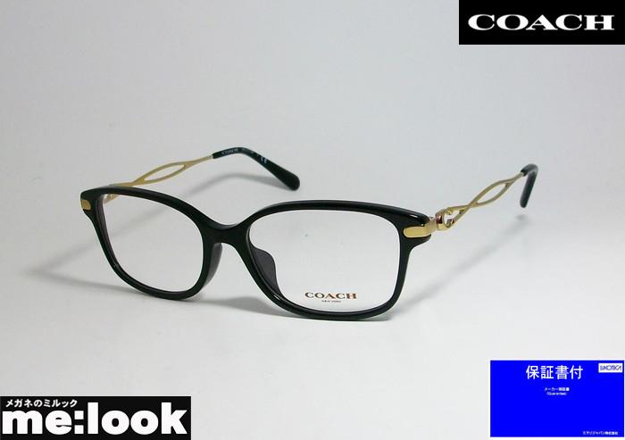 国内正規品 メーカー保証書付 COACH コーチレディース 眼鏡 日本正規代理店品 メガネ 度付可ブラック フレームHC6172F-5002-54 ゴールド オーバーのアイテム取扱☆