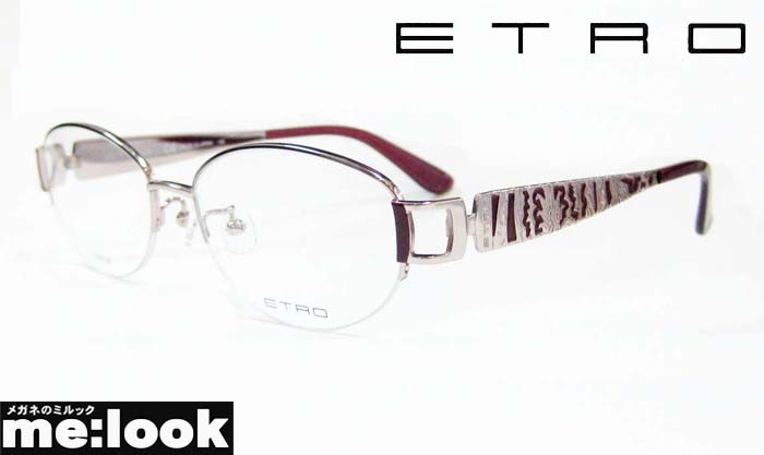 ETRO エトロレディース眼鏡 メガネ フレームET2504J-663-53 度付可ピンク