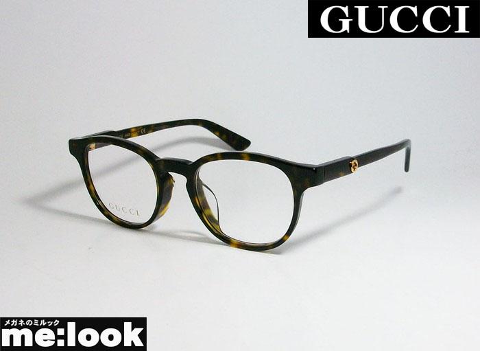国内正規品 ご予約品 GUCCI グッチ眼鏡 フレーム お中元 べっ甲 ASIAN FITハバナ セルフレームGG0556OJ-002-47