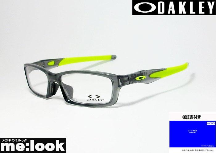 OAKLEY オークリー OX8118-0256眼鏡 メガネ フレームCROSSLINK クロスリンク 度付可グレイスモーク レティーナバーンOX8029