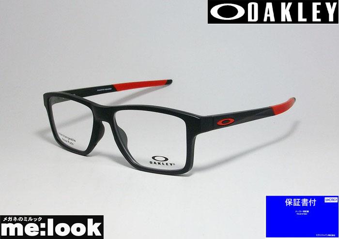 OAKLEY オークリー OX8143-0554眼鏡 メガネ フレームCHAMFER SQUAREDシャンファー スクエア 度付可サテンブラック