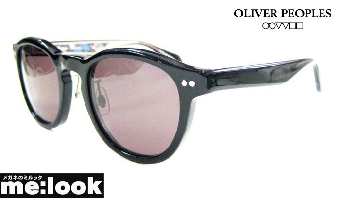 Oliver Peoples x HOSOO 国内正規品西陣織の老舗、細尾とのコラボレーションモデルオリバーピープルズサングラスSUNSET-BLVD-BK