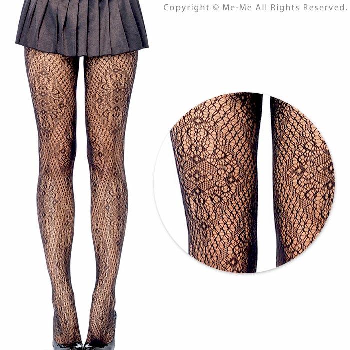 Me Me Rakuten Global Market Classical Pattern Knit Tights 79513