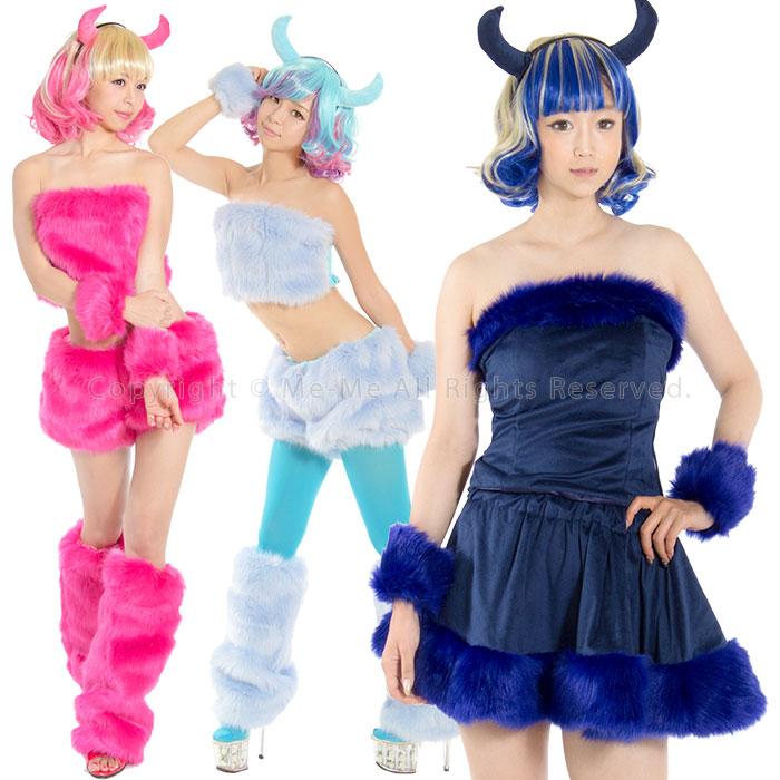 fuwa moko♪能選的16個類型!!小鬼or天使服裝安排(全12色)[dws02]/我我☆5400日圆(含稅)之上并且☆動物服裝性感古裝戲服裝