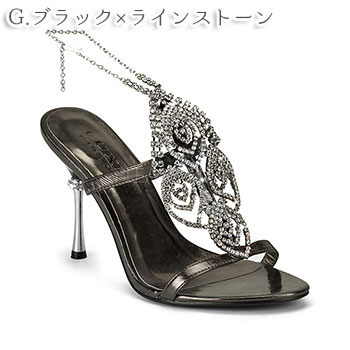 Up to 15 cm heels! At least Crystal Mule (Pink) / Miami ☆ 5,400 Yen (tax included)