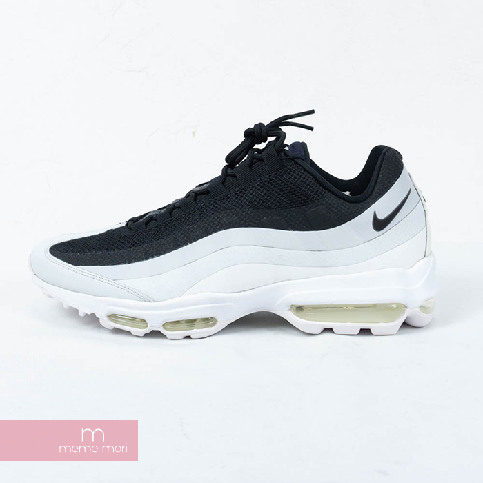 huge discount eb005 c31b8 NIKE AIR MAX 95 ULTRA ESSENTIAL 857,910-009 Nike air max 95 ultra essential  high technology sneakers low-frequency cut shoes black X white size ...