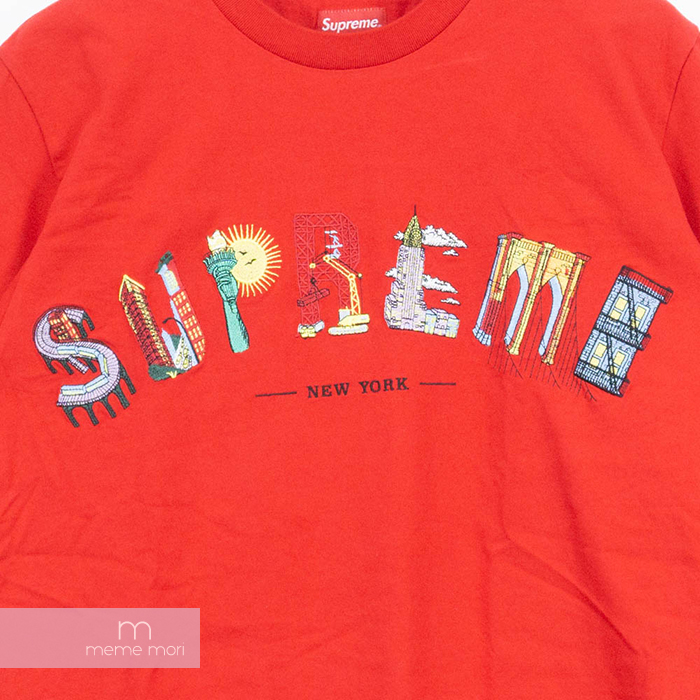 26fadb1d2e77 ... Supreme 2019SS City Arc Tee シュプリームシティーアーク T-shirt embroidery arch logo  short sleeves ...