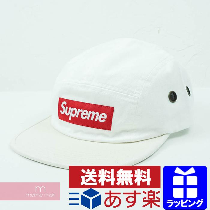 Supreme 2019SS 2-Tone Camp Cap シュプリーム 2トーンキャンプキャップ ホワイト×オフホワイト プレゼント ギフト【190430】【新古品】