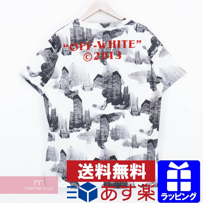 68fa027af683 OFF-WHITE 2016AW Cotton Back Logo Tee off-white back logo T-shirt ...