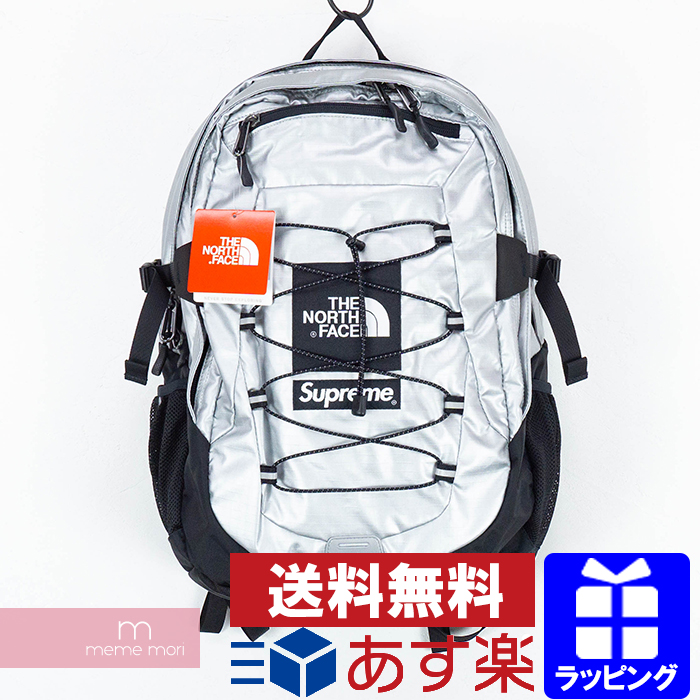 1e67e771b Supreme X THE NORTH FACE 2018SS Metallic Borealis Backpack シュプリーム X North  Face metallic bag pack rucksack bag bag silver present gift