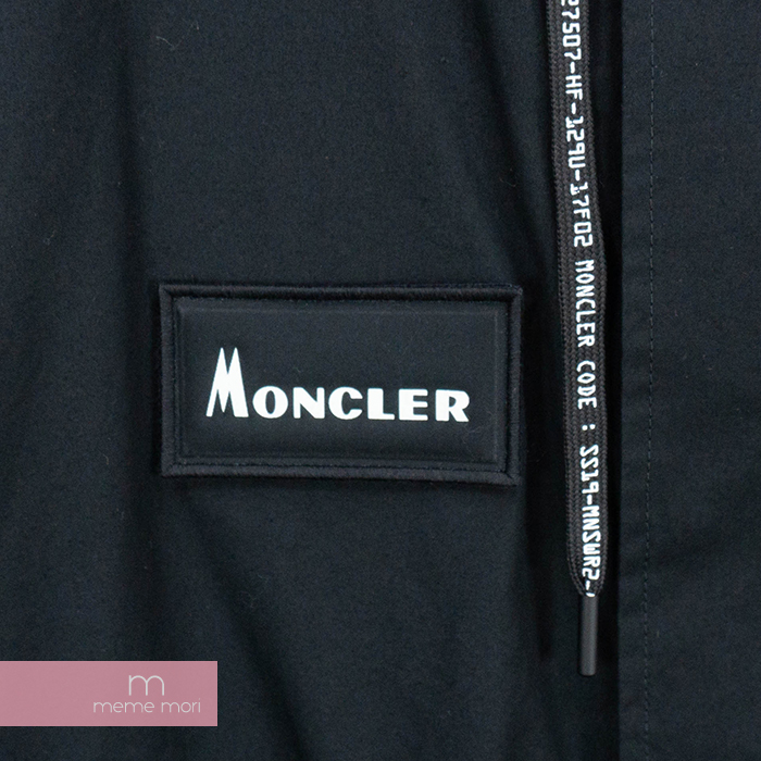 ebe844a2a Moncler X Fragment HIROSHI FUJIWARA 2019SS E109U4200350 54A3W Monk rail X  fragment Hiroshi Fujiwara Mods coat coat patch logo back logo black size 3  ...