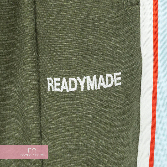 READY MADE Side Snap Pants ready-made vintage cotton side line snap button  truck long underwear khaki size 1 present gift