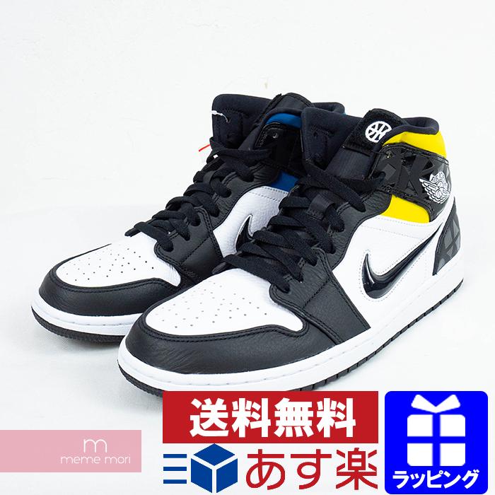 NIKE AIR JORDAN 1 MID SE Q54 QUAI 54 CJ9219-001 Nike Air Jordan 1 mid SE  higher frequency elimination sneakers multicolored size US10.5(28.5cm) ...