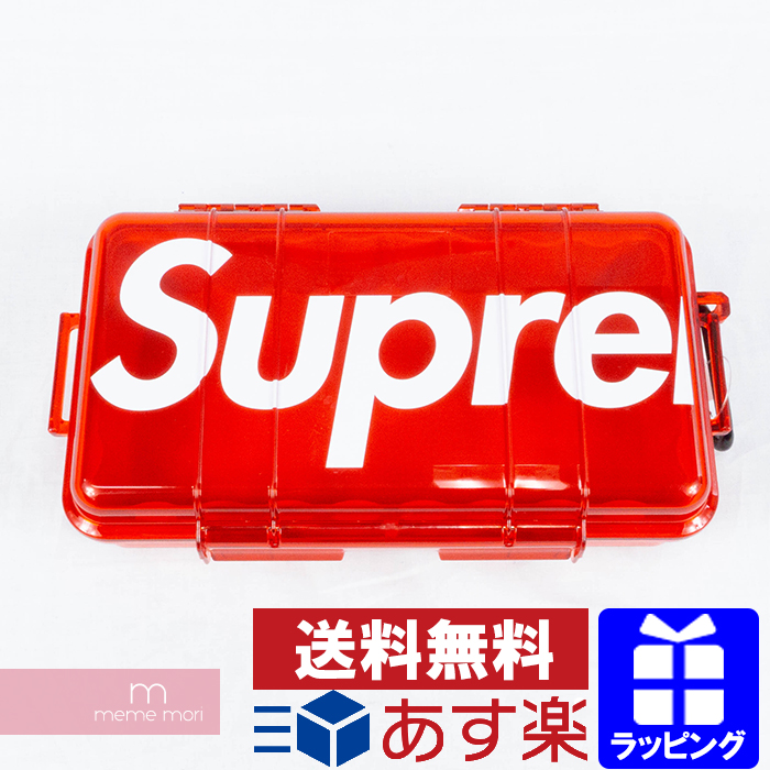 Supreme 2019AW Pelican 1060 Case シュプリーム×ペリカン マイクロハードケース 防水 ロゴ レッド プレゼント ギフト【200320】【新古品】