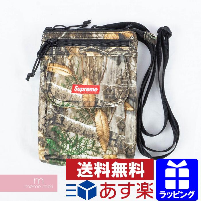 Supreme 2019AW Shoulder Bag Real Tree Camo シュプリーム ショルダーバッグ ポーチ リアルツリーカモ 迷彩 カーキ プレゼント ギフト【200401】【新古品】