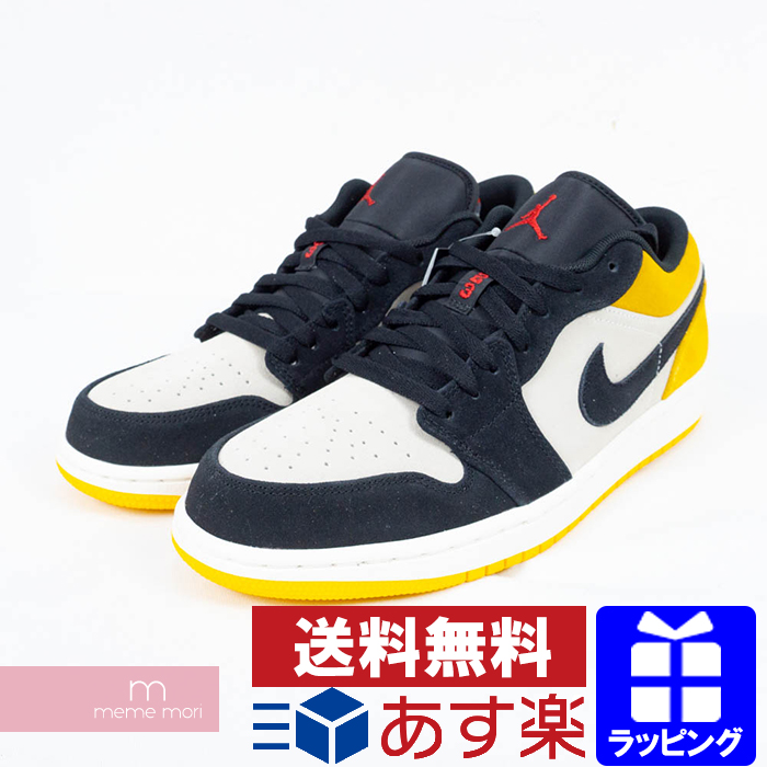 competitive price 89806 76701 NIKE 2019SS AIR JORDAN 1 LOW UNIVERSITY GOLD 553558 127 Nike Air Jordan 1  low low-frequency cut sneakers black X gray X yellow size US10.5(28.5cm) ...