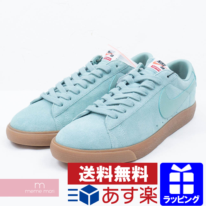 size 40 5fde9 c25bf Supreme X NIKE 2016AW NIKE SB BLAZER LOW GT QS 716,890-009 シュプリーム X Nike  Nike SB ブレーザー GT QS low-frequency cut sneakers blue size US11(29cm) present  ...