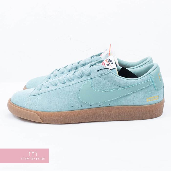 size 40 59f70 0a362 Supreme X NIKE 2016AW NIKE SB BLAZER LOW GT QS 716,890-009 シュプリーム X Nike  Nike SB ブレーザー GT QS low-frequency cut sneakers blue size US11(29cm) present  ...