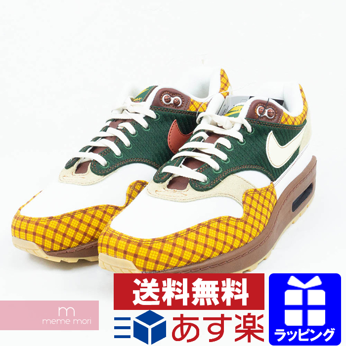 NIKE 2019SS NIKE SB AIR MAX SUSAN MISSING LINK 'CK6643 100' Nike SB Air Max Susan low frequency cut sneakers green X yellow X white size US9(27cm)