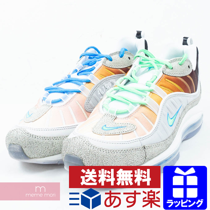 pretty nice eaf95 32be1 NIKE AIR MAX 98 OA GS CI1502-001 Nike NYC Air Max 98 low-frequency cut  sneakers multicolored size US9(27cm) present gift