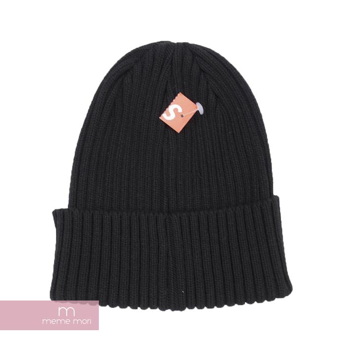 e6719c0a196a5 Supreme Overdyed Ribbed BOX Beanie シュプリームスモールボックスロゴビーニーニットキャップニット hat hat  black present gift