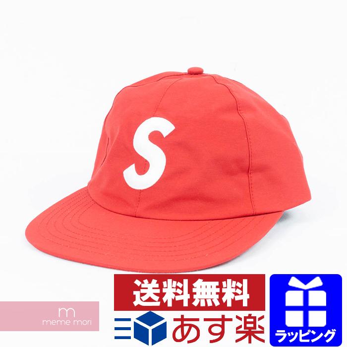 Supreme 2019SS GORE-TEX S-Logo 6-Panel Cap シュプリーム ゴアテックスSロゴ6パネルキャップ 帽子 レッド プレゼント ギフト【190605】【新古品】【me04】