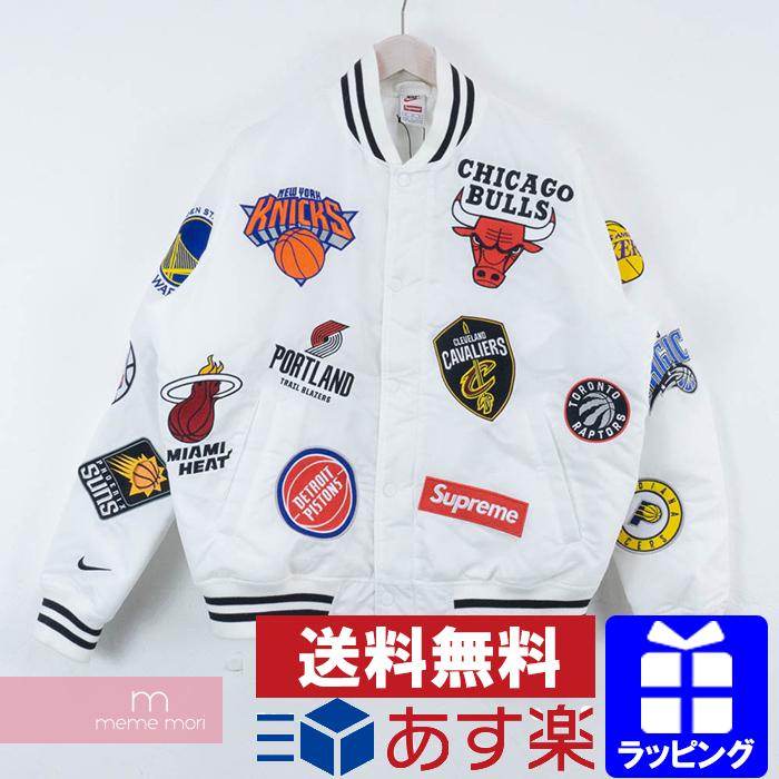 newest 802d4 05606 USED SELECT SHOP meme mori  Supreme X NIKE 2018SS NBA Teams Warm-Up Jacket  シュプリーム X Nike NBA team warm-up jacket white size M present gift   Rakuten  ...