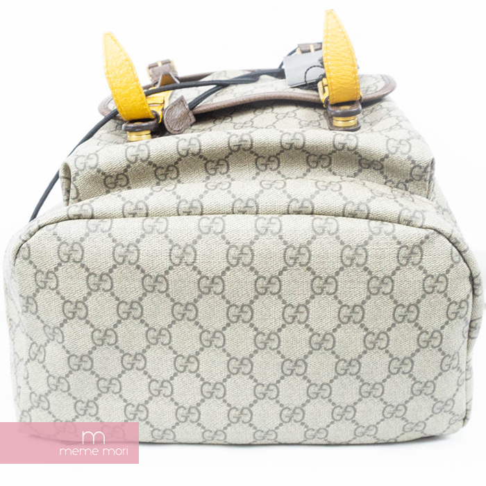 337c695d06d4b1 ... GUCCI Soft GG Supreme Backpack 473869 Gucci software GG スプリームバックパックリュック bag  beige Father's ...