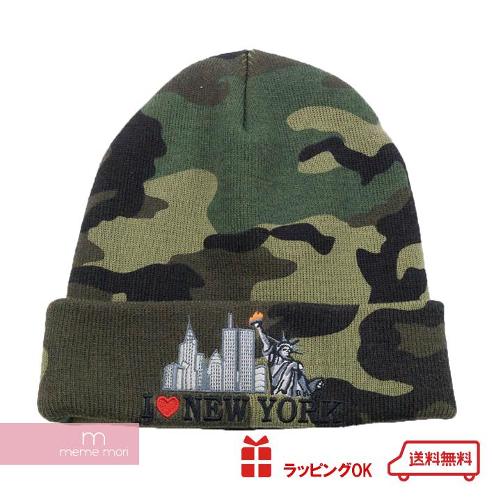3f4f6d0c51c Supreme 2017AW I Love New York Beanie シュプリームアイラブニューヨークビーニーニット hat hat  camouflage pattern camouflage khaki present gift