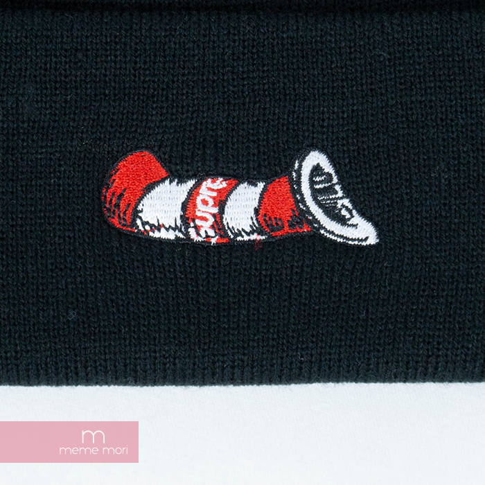 Supreme 2018AW Cat in the Hat Beanie シュプリーム キャットインザハットビーニー ニット帽 ブラック プレゼント ギフト 190213新古品NOvm8nw0