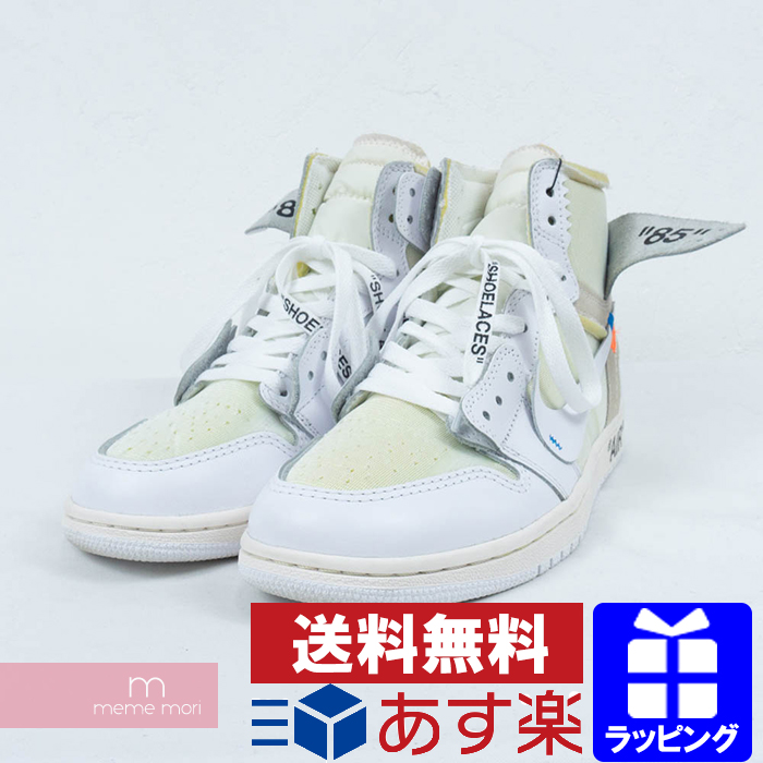 aliexpress temperament shoes store OFF-WHITE X NIKE 2018SS AIR JORDAN 1 NRG AQ8296-100 VIRGIL ABLOH off-white  X Nike air Jordan 1 higher frequency elimination sneakers EU-limited white  ...